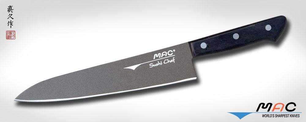 Mac Knife Japanese Series Nonstick Sushi and Sashimi Knife, 8-1/2-Inch by Mac Knife