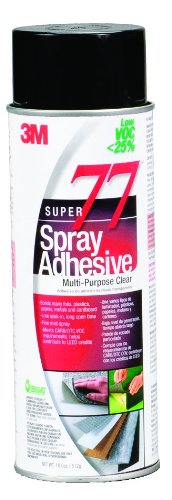 3m-super-77-spray-adhesive-low-voc-25-clear-24-fl-oz-can-net-wt-180-oz-pack-of-1