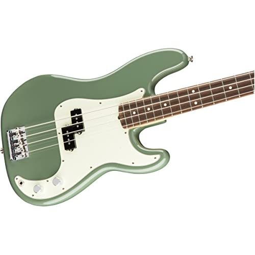 American Pro Precision Bass Antique Olive RW + Etui