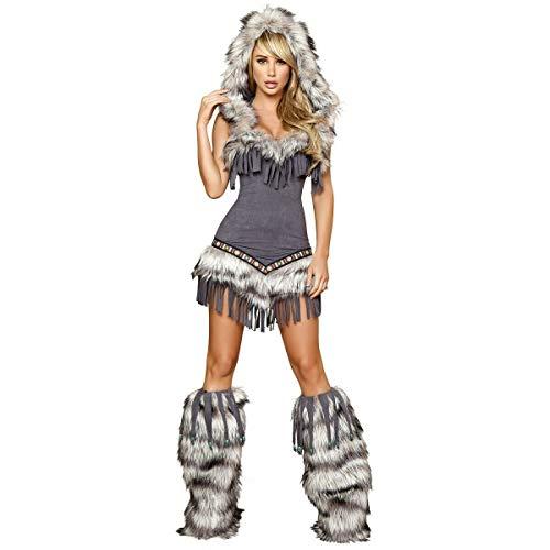 Tftw Eskimo Costume Adult Sexy Halloween Fancy -