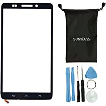 Sunways Touch Digitizer Glass Screen Replacement For Motorola Droid Ultra XT1080 MAXX 1080M With device opening tools