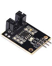 Fotoelektrisk strålningssensormodul Strålräknare Sensor kod Hjulhastighet Smal kropp Reflekterande material - Svart