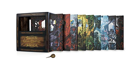 Game of Thrones: The Complete Seasons 1-8 (Collectors Edition/BD) [Blu-ray] (Game Of Thrones Box Set 1 7)