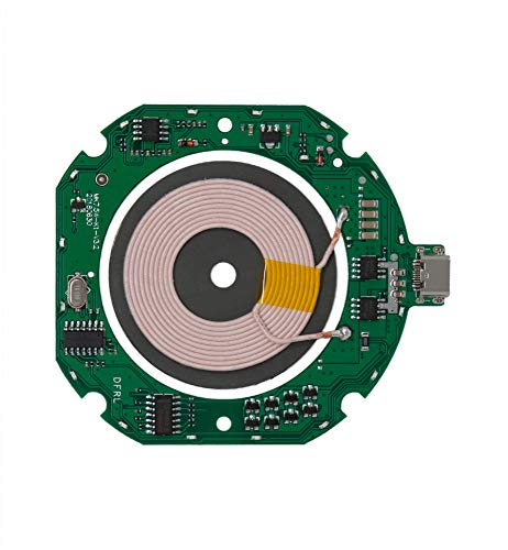 7.5W 10W Qi Wireless Charger: PCBA & Coil Transmitter Module w/LED and Type C Port - DIY