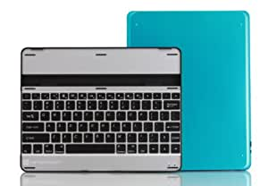 Hipstreet Case With Bluetooth Multimedia Keyboard for Ipad 2/3/4. Blue Hard Case