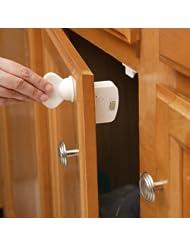 美亚:史低价!Safety 1st 磁力柜子锁 8个锁+1把钥匙,原价$29.99,现仅售$15.12