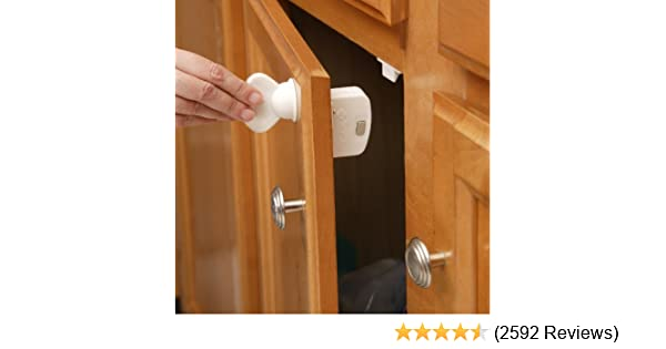 Multi-function Baby Safety Lock Cabinet Door Handles Children Protector