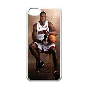iPhone 5c Cell Phone Case White Dwyane Wade Miami Heat U0S3SW