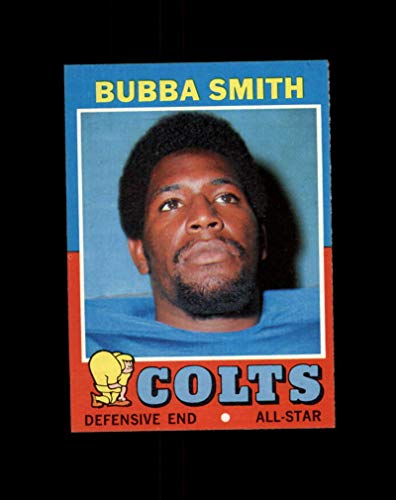 - 1971 Topps Football #053 Bubba Smith STARX 8 NM/MT CS35915