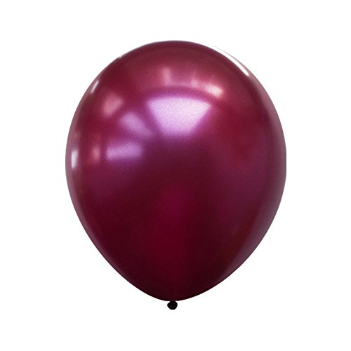 Neo LOONS 12 Pearl Burgundy Premium Latex Balloons -- Great for Kids , Adult Birthdays, Weddings , Receptions, Baby Showers, Water Fights, or Any Celebration, Pack of 100