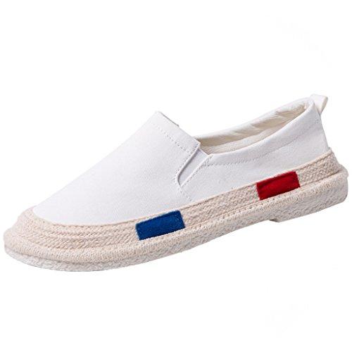 di maschio 44 Size basse tela in pedale scarpe stile Bianca Blue uomo YaNanHome tendenza pescatore Scarpe scarpe Color Estate coreano scarpe calcio da da traspirante da Espadrillas 0wx4qASO
