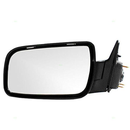 Koolzap For 08-09 Taurus Power Non-Heated Folding Black Rear View Mirror Left Driver Side LH ()