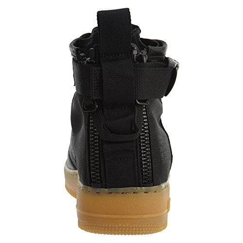 Black Nike Uomo Black Brown 1 SF Light in Air e 917753 Pelle Force Mid Tessuto Scarpe 101 Wmns gum Bianco CCqHarZ