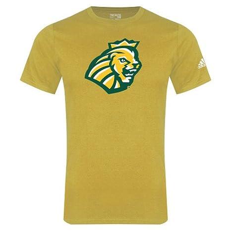 8c9674ae Amazon.com : Methodist Adidas Gold Logo T Shirt 'Lion Head' : Sports ...