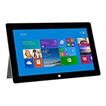 """Microsoft Surface 2 Tablet - Windows RT 8.1, 10.6"""" 1920x1080 1080P LCD Touchscreen, Front and Rear Camera Office RT 2013 Included (32G) Refurbished"""