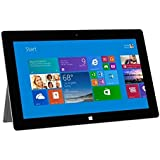 "Microsoft Surface 2 Tablet Refurbished - Windows RT 8.1, 10.6"" 1920x1080 1080P LCD Touchscreen, Front and Rear Camera Office RT 2013 Included"