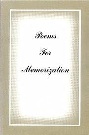 Poems for memorization
