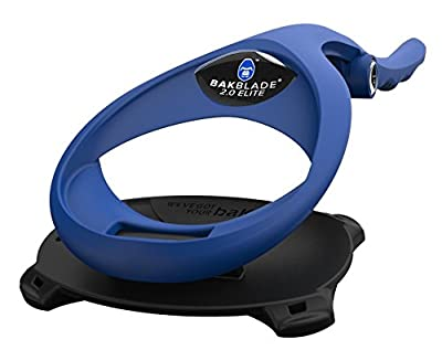 BAKblade - Back Hair Removal and Body Shaver (DIY), Easy to Use Curved Handle for a Close, Pain-Free Shave Wet or Dry