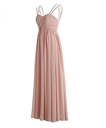 line Navy A Long Women's Chiffon Party Prom Dress Sweetheart Pleated Dresses Bridesmaid Fq4wxIP