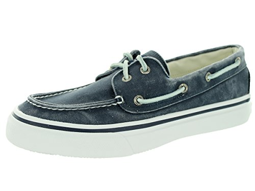 Sperry Top-Sider Men's Bahama 2 Eye Boat Shoe,Navy,10.5 - Canvas Boat Shoes