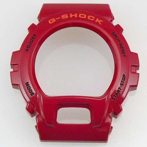 Casio G Shock純正モデルdw6900cb-4交換Shinyレッド樹脂ベゼルにもフィットdw6900 X X Watch B006WQFDVC