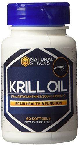 Premium antarctic krill oil 1000 mg with 1 5 mg of super for Is krill oil better than fish oil