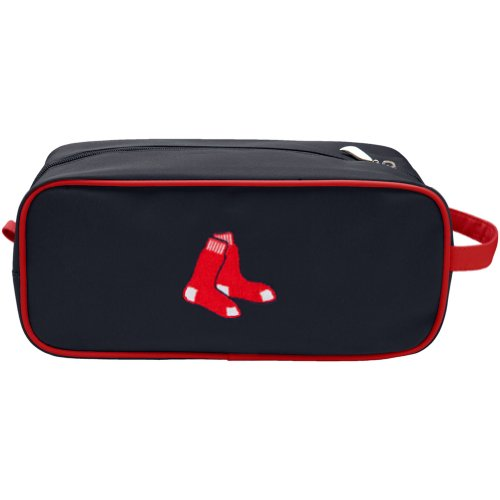 Charm14 MLB Boston Red Sox Travel Case with Embroidered Logo - Gift Sox Mlb