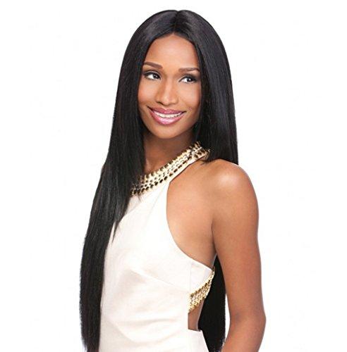 Longlove Popular Lifelike Wig Repair Face Black Female Models with Short Hair -