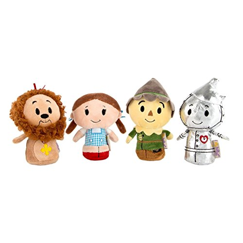 - Itty Bittys - Full Set of 4 - Wizard of Oz - TinMan, Dorothy , Scarecrow & Cowardly Lion