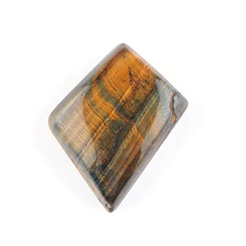 Jaguar Gems 50 Carats Natural Tiger Eye Cabochon Gemstone and Crystals, DIY Jewelry Making Supplies, Tiger Eye Gems