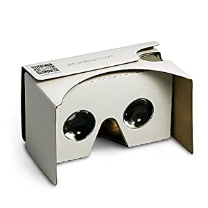 Google Cardboard V2 Virtual Reality Glasses VR Headset for Mobile with 34mm Lens
