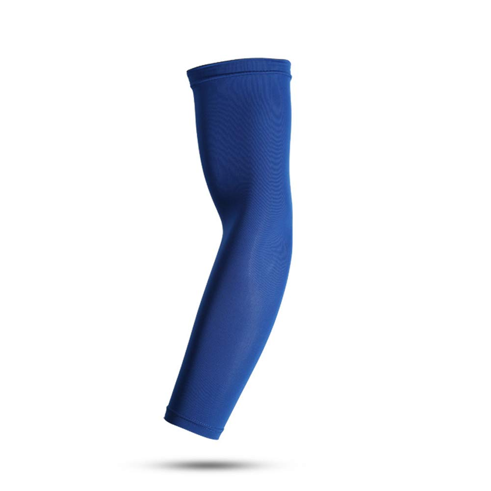 elegantstunning Sports Enlarged Arm Protector Breathable Anti-slip Elbow Pad Sleeve for Cycling Running