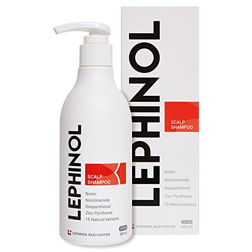 LEPHINOL Scalp Hair Loss Prevent and Hair Regrowth Shampoo for Men & Women Growth Biotin Product