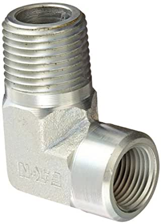 Eaton Aeroquip 2089-8-6S Steel Pipe Fitting, 90 Degree