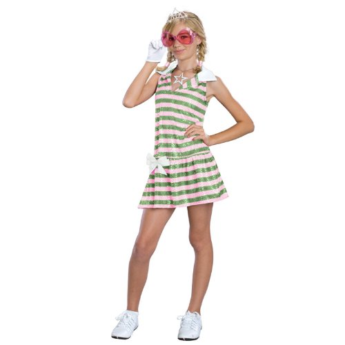 High School Musical Sharpay Golfdress Costume: Girl's Size 4-6 ()