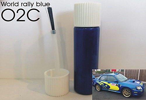 Subaru Impreza World Rally Bleu Touch Up Stick Peinture Brosse 10 ml Code 02 C O2 C SCOOBY DESIGNS
