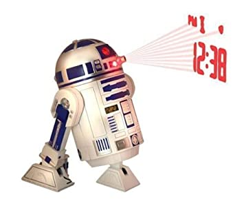 BUNKERBOUND Despertador proyector Star Wars R2D2 + Mini aspirador ...