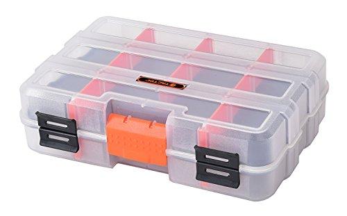 Tactix 320042 Mini Double Sided Parts Organizer Double Sided Organizer