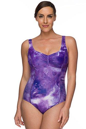 Maru Femmess Texture Dye Sparkle Maillot de bain - Violet