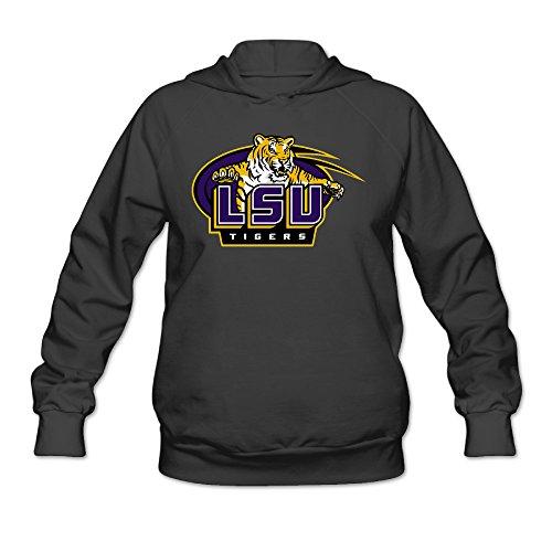 [CYANY Louisiana State University LSU Women's New Hoodies Hooded Sweatshirt LBlack] (Lsu Mascot Costume)