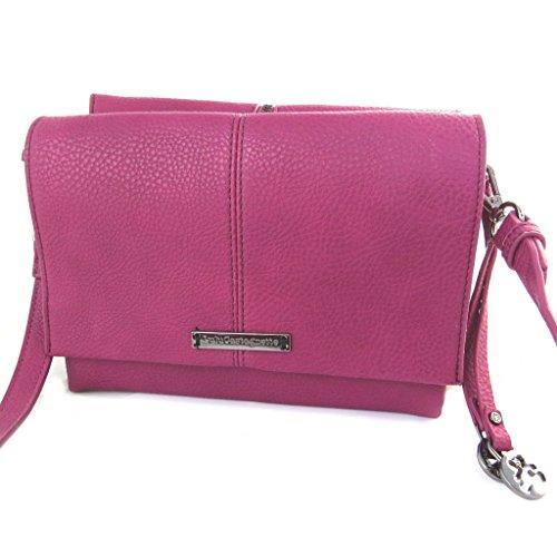 2 Castagnettefucsia Lulu Bag Designer Scomparti