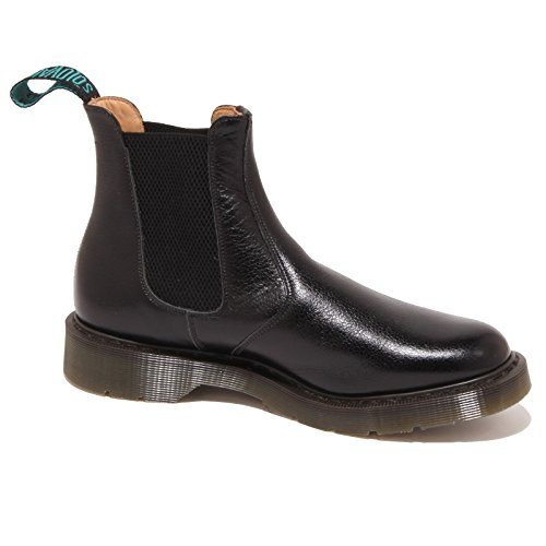 Solovair 0896P Polacchino Scotch Beatles Nero Scarpa Uomo Boot Men Nero