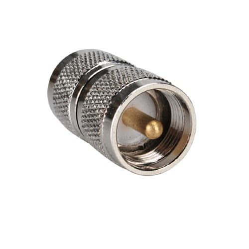 DHT Electronics RF coaxial coax adapter UHF male to male PL-259 connector