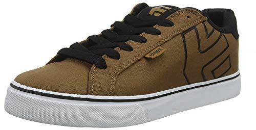 - Etnies Men's Fader Vulc Skate Shoe, Brown/Black/White, 9 Medium US