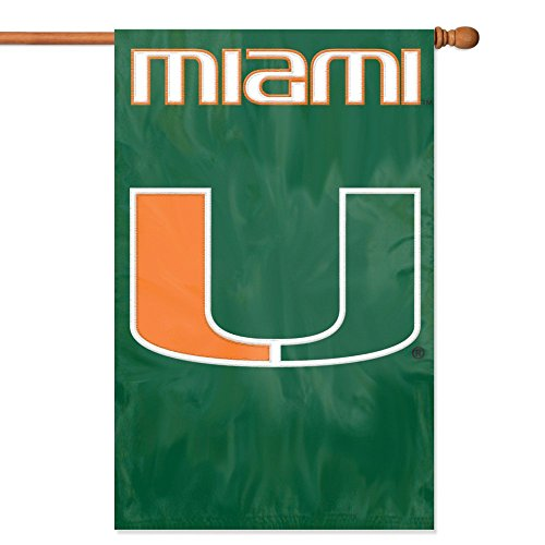 Party Animal Miami Hurricanes Ibis Banner College Flag ()