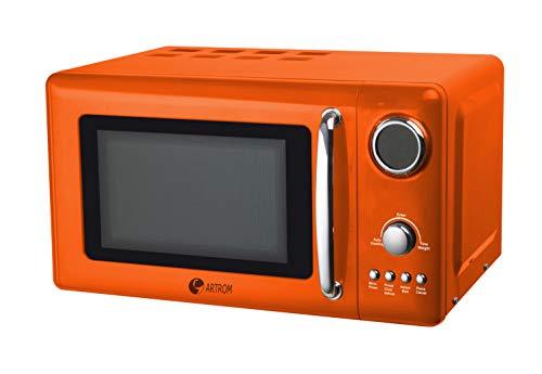 Microondas digital vintage naranja: Amazon.es: Hogar