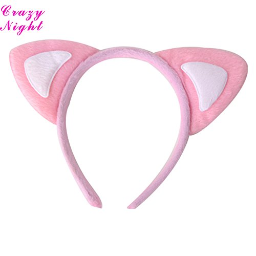 Crazy Night Adorable Kitty Ear Headband Party Costume Accessory -