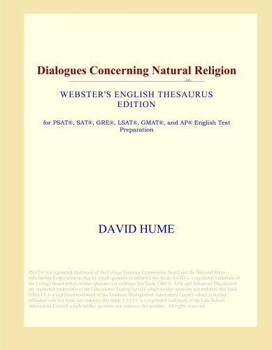 Dialogues Concerning Natural Religion (Webster's English Thesaurus Edition)