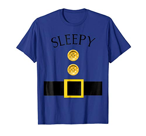 Cute Sleepy Halloween Group Costume T Shirt |