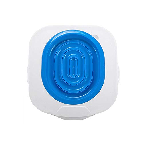 Cat Toilet Training Kit, Step by Step Kitten Pet Toilet Training System, Litter Tray Mat, Kitty Urinal Seat Toilet Trainer, Blue Convenient Groove Design Safe Non-Toxic Pet Supply